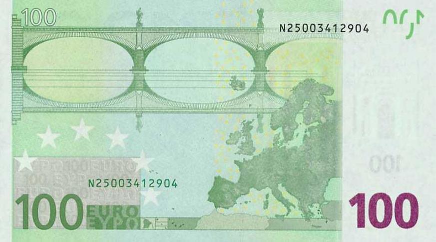 Peniaze 100 eur